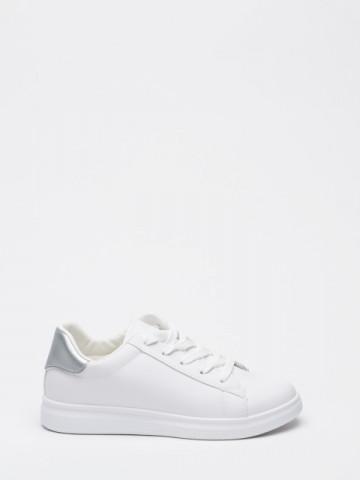 Pantofi sport cod WS173 White/Silver