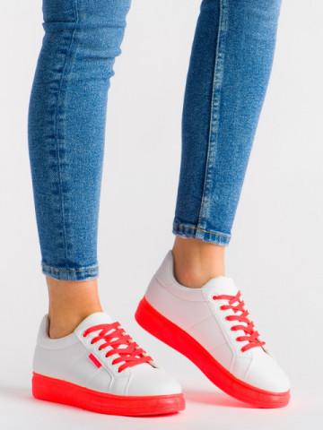 Pantofi sport cod YKQ191 White/Orange
