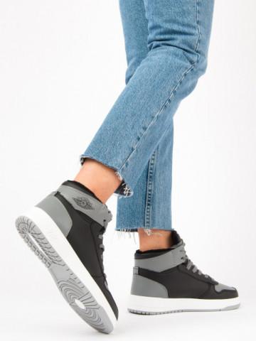 Pantofi sport imblaniti cod AJ30 Shadow Grey