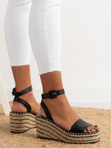 Sandale cod 6000844 Black