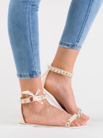 Sandale cod 6110-14 Beige
