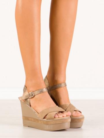 Sandale cod A901 Beige