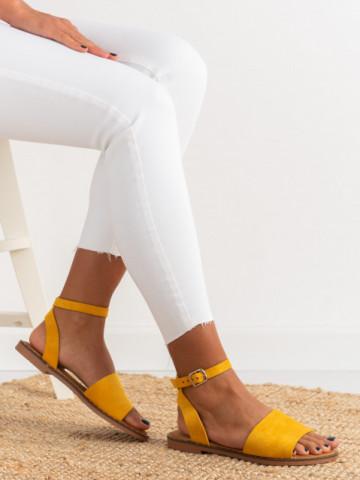 Sandale cod C21-58 Yellow