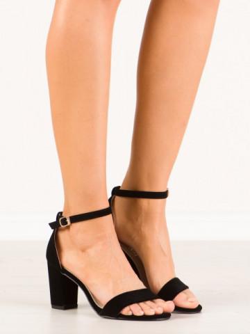 Sandale cu toc cod A08 Black