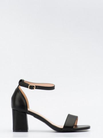 Sandale cu toc cod GG99 Black