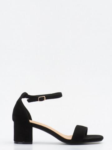 Sandale cu toc cod SK73 Black