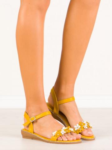 Sandale cod JN310 Yellow