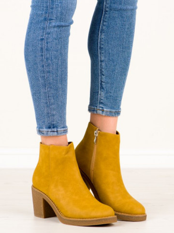 Botine cod MI-002 Yellow