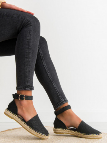 Espadrile cod MS103 Black