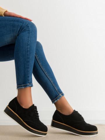 Pantofi casual cod 8998-46 Black