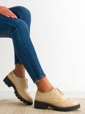 Pantofi casual cod DS9 Beige