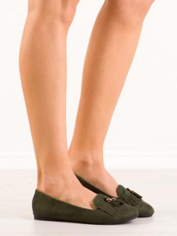 Pantofi casual cod H7207 Verde