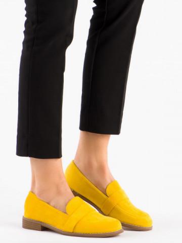 Pantofi casual cod T366 Yellow