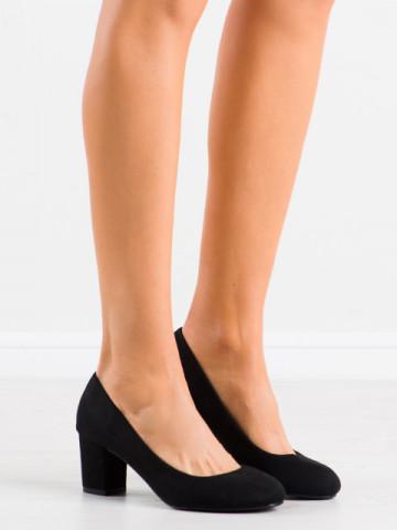 Pantofi cu toc cod 8990 Black