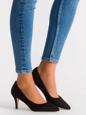 Pantofi cu toc cod EK0501 Black