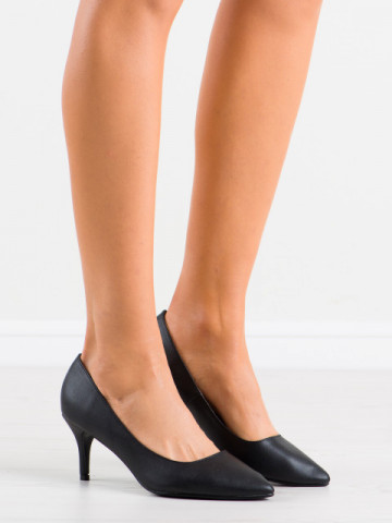 Pantofi cu toc cod K308 Black