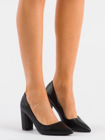 Pantofi cu toc cod OD0134 Black