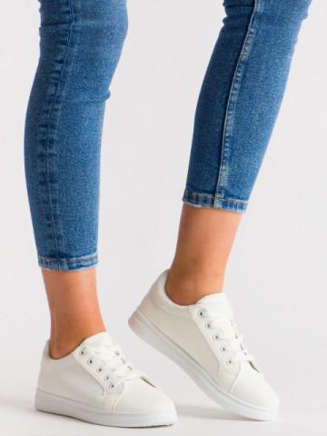Pantofi sport cod 169 White