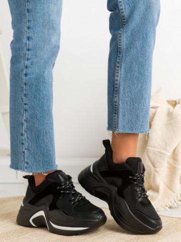 Pantofi sport cod 2019-A11 Black