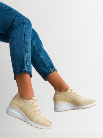 Pantofi sport cod 2043 Beige