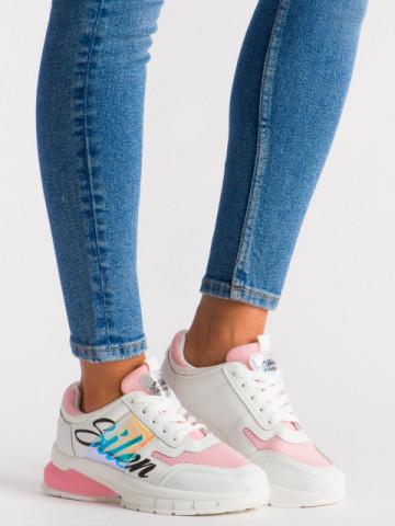 Pantofi sport cod 5818 Pink