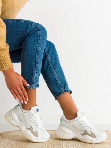 Pantofi sport cod 5820 White