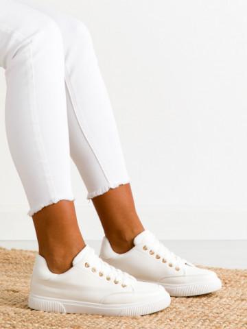 Pantofi sport cod 6110 White