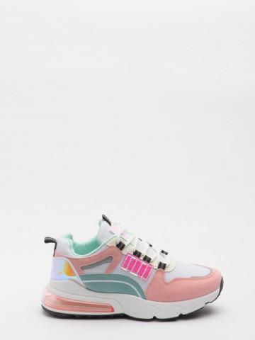 Pantofi sport cod 618-2 White/Pink