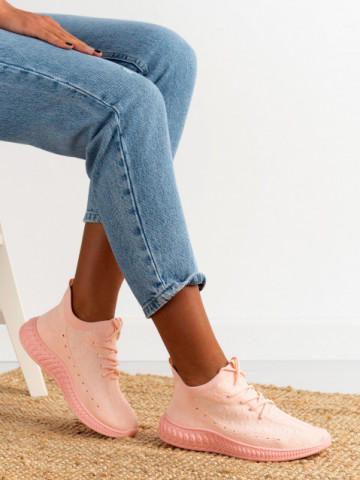 Pantofi sport cod 7819 Pink