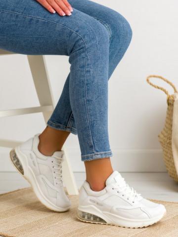 Pantofi sport cod 8271 White