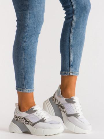 Pantofi sport cod A1059 White