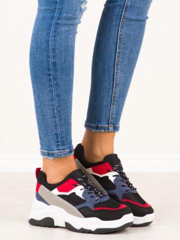 Pantofi sport cod A88-50 Black