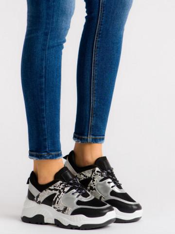 Pantofi sport cod A88-56 Black