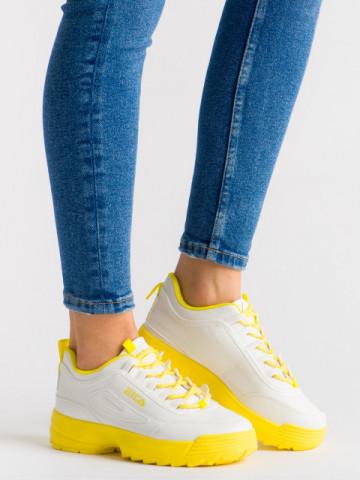 Pantofi sport cod ABC-306 Yellow
