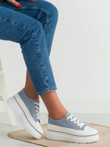 Pantofi sport cod BL228 Jeans