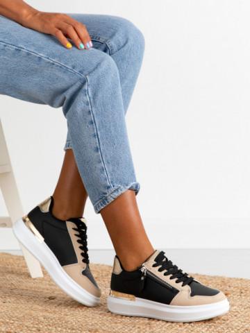 Pantofi sport cod D021-4 Black