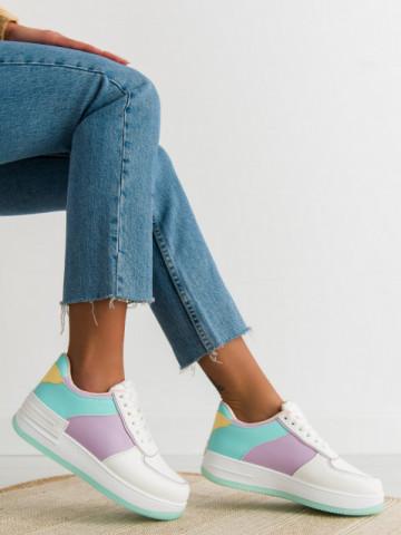 Pantofi sport cod J1850 Purple