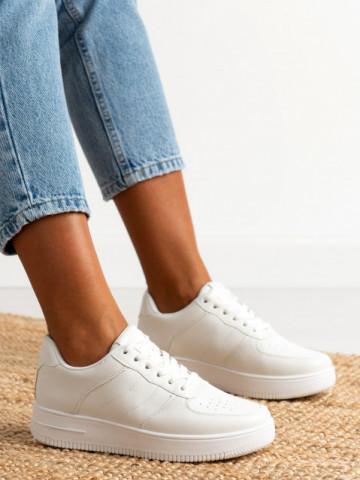 Pantofi sport cod J1859 White