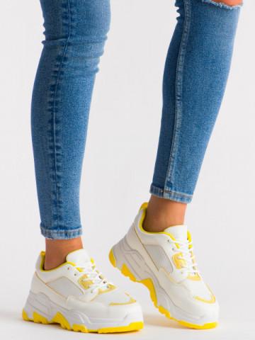 Pantofi sport cod KR004 Yellow
