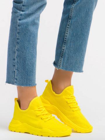 Pantofi sport cod L8052 Yellow