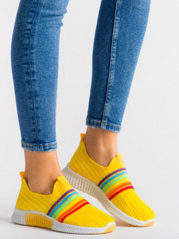 Pantofi sport cod M-1 Yellow