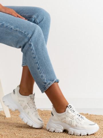Pantofi sport cod M21 White