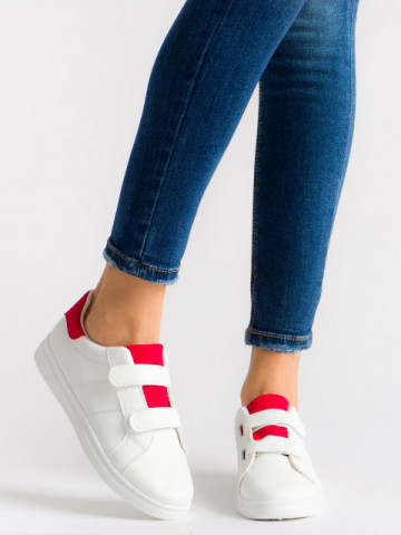 Pantofi sport cod T-12 White/Red