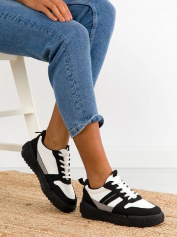 Pantofi sport cod X2983 Black