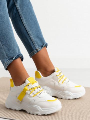 Pantofi sport cod YP5 Yellow