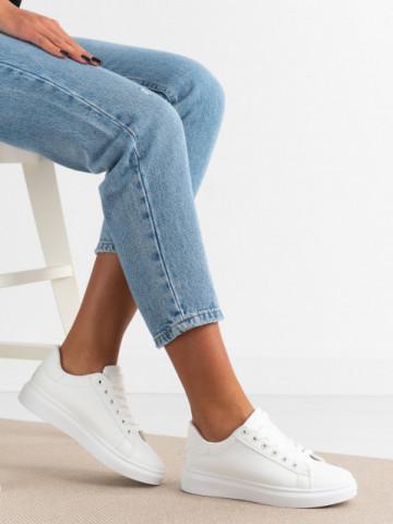 Pantofi sport cod YZ710 White