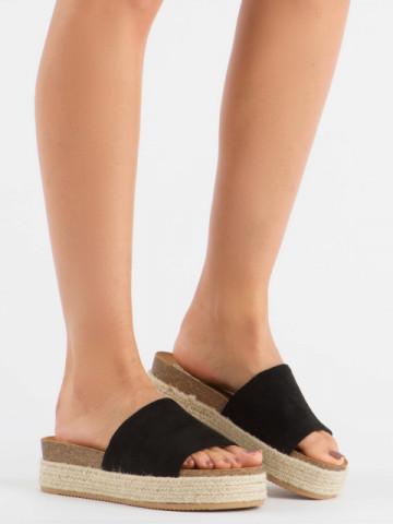 Papuci cod 10-215 Black