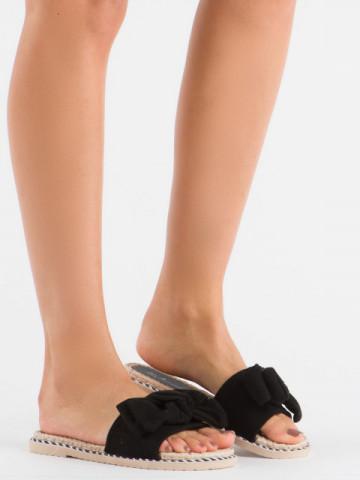Papuci cod N68 Black