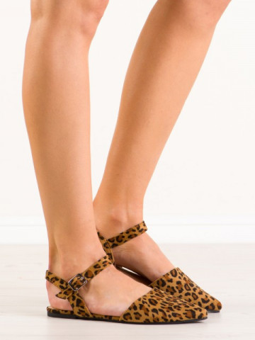 Sandale cod 235-4 Leopard