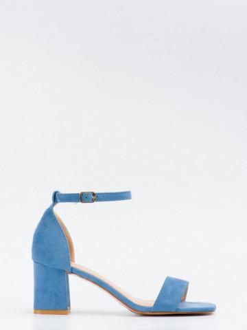 Sandale cu toc cod GG98 Jeans